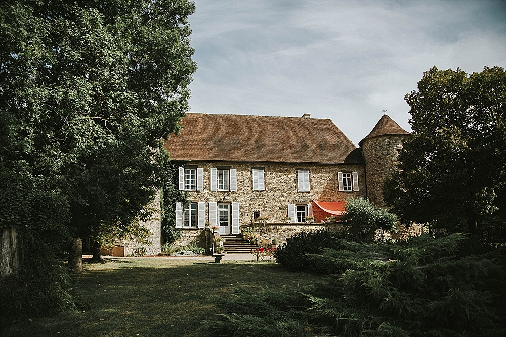Mariage château Auvergne