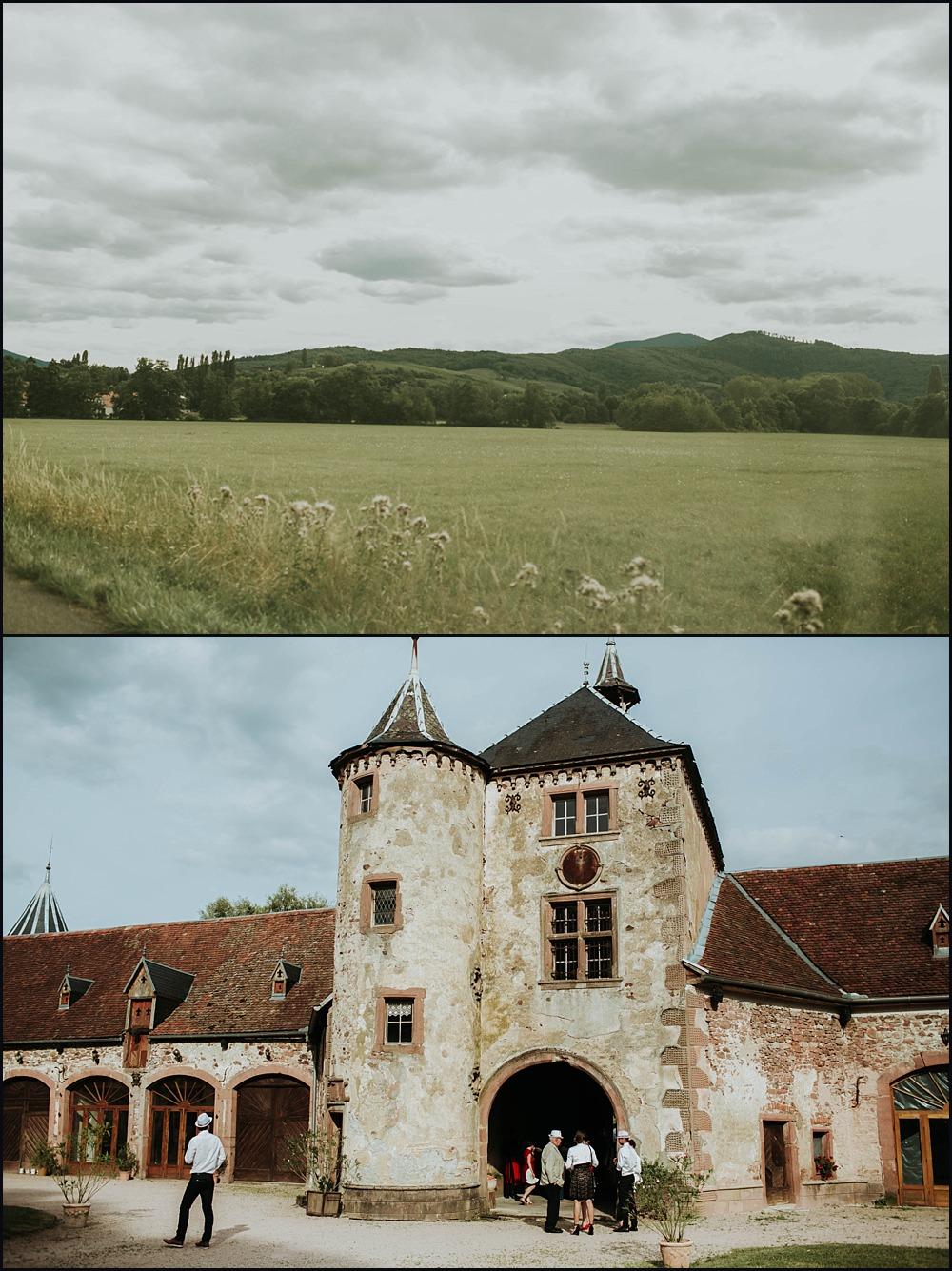 Mariage Château de Thanvillé