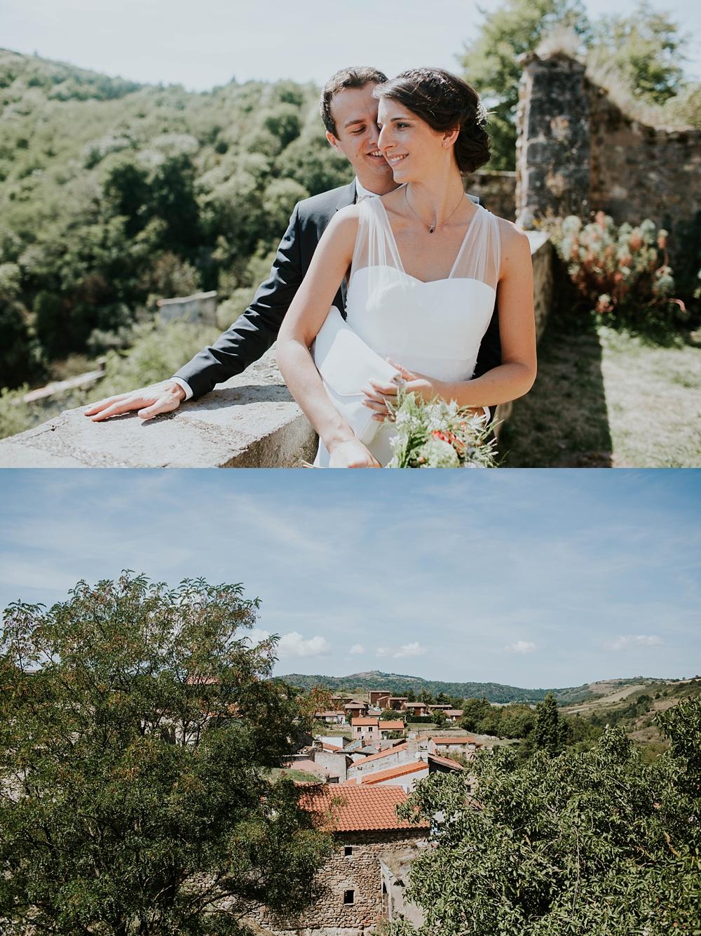 Mariage Auvergne Clos du Fort