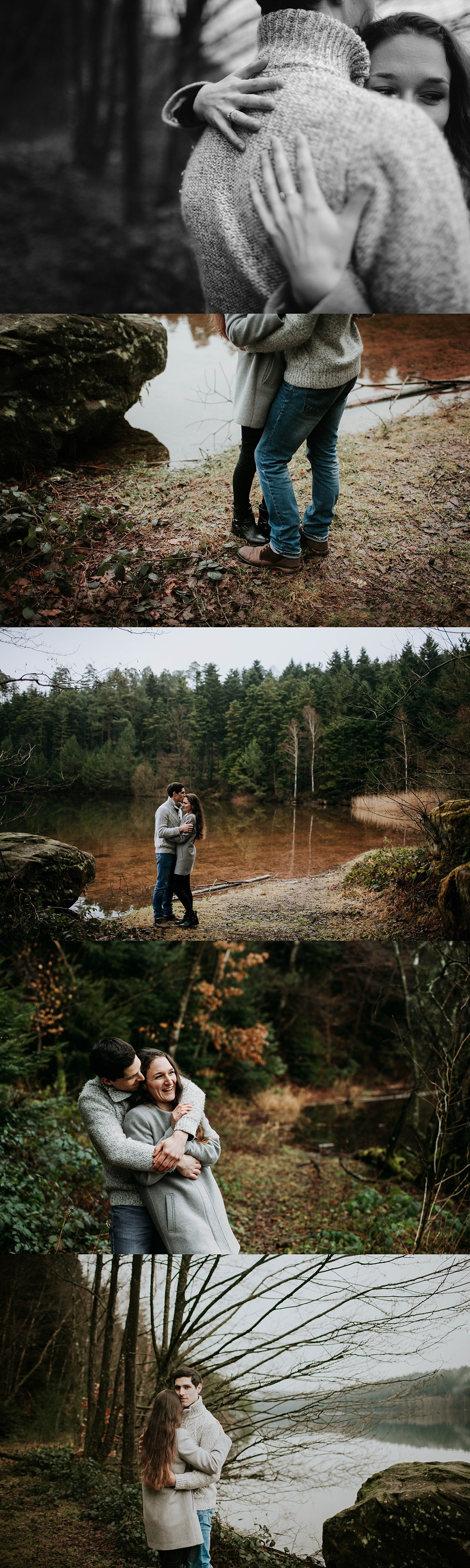 Séance engagement mariage Alsace Lorraine France