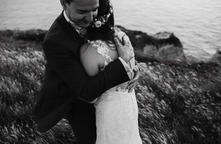 Photographe mariage Normandie falaises Etretat