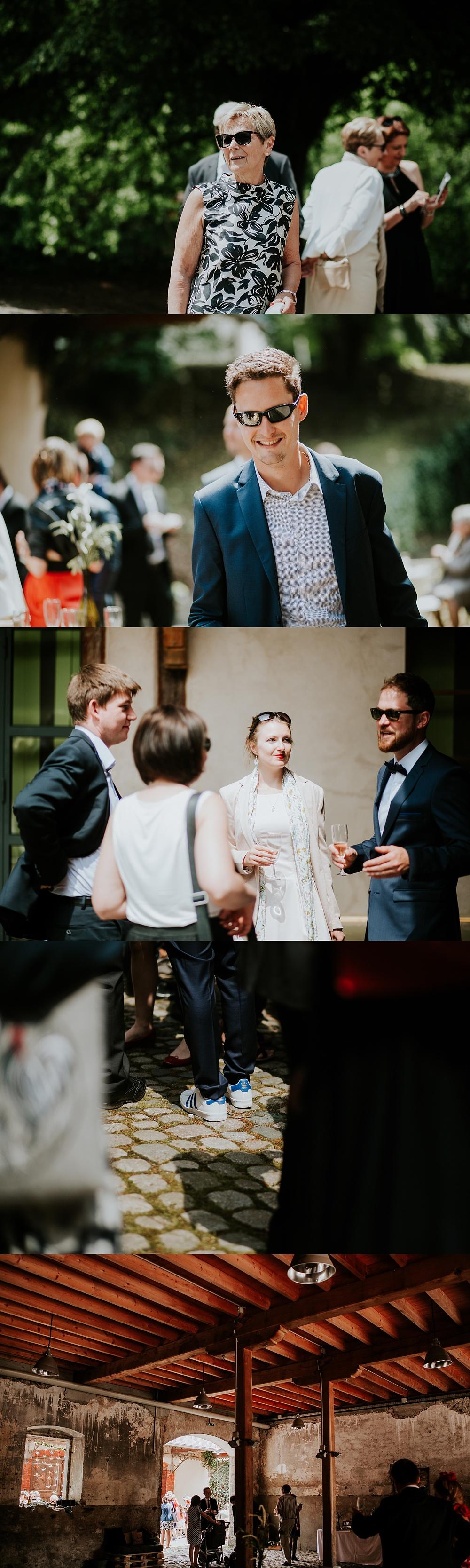 Mariage au parc de Wesserling en Alsace