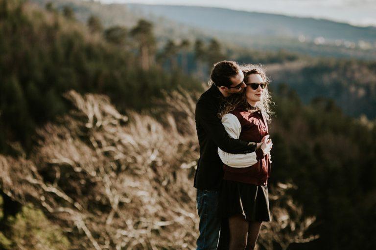 Séance engagement mariage Alsace