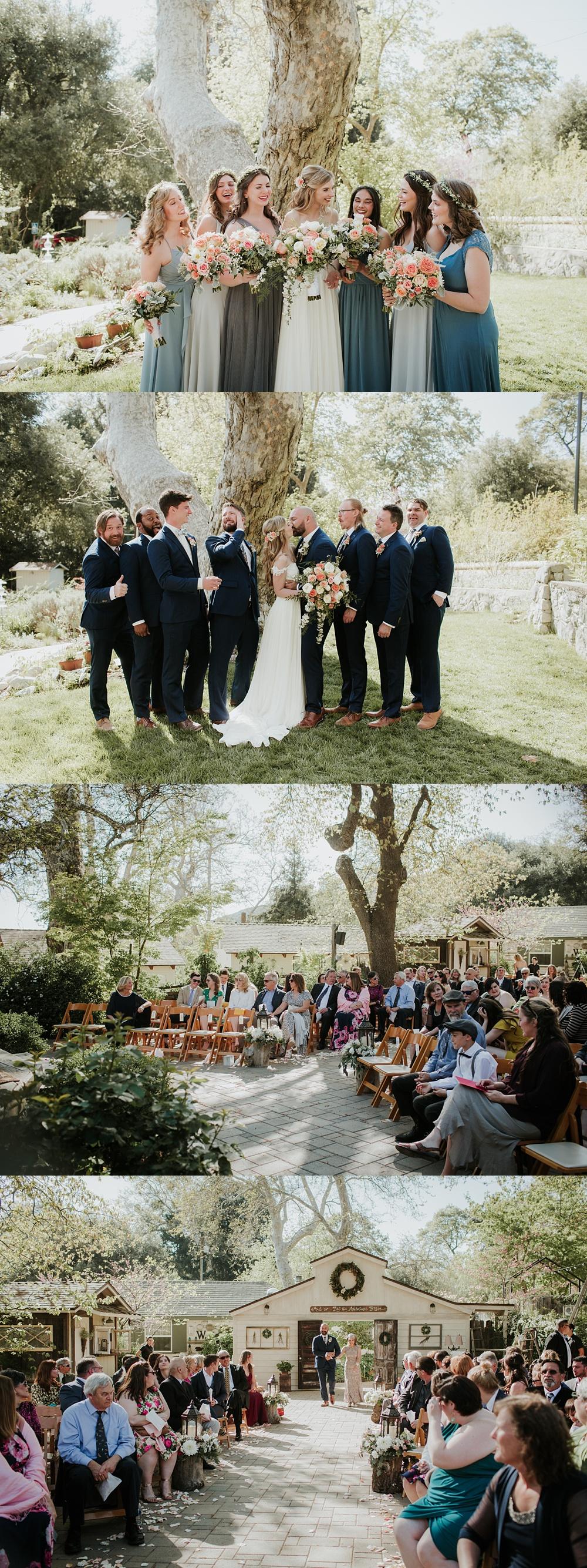 Wedding photographer Los Angeles Oak Glen The Homestead at Wilshire Ranch