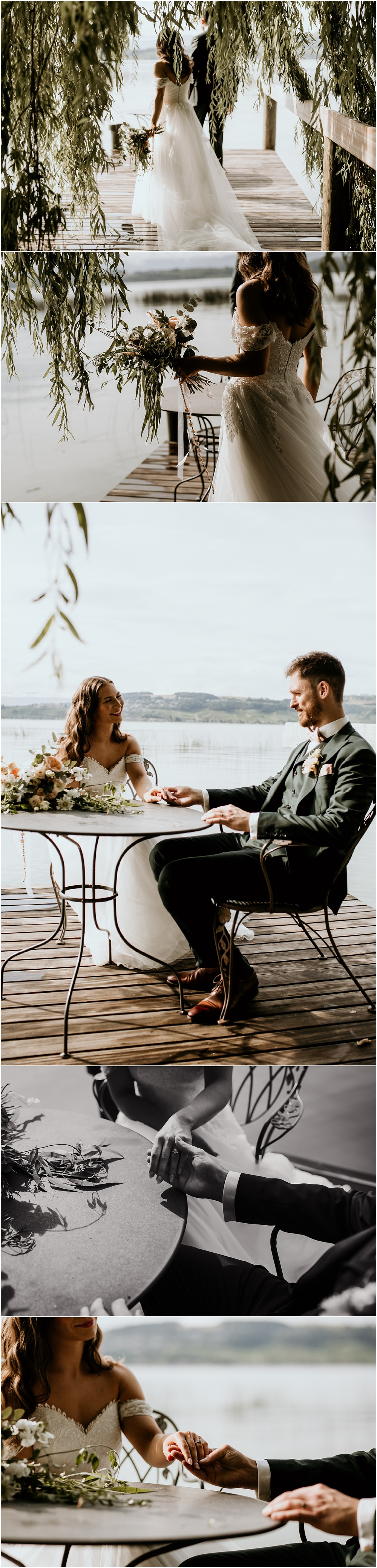 Destination Wedding Switzerland Lake Morat