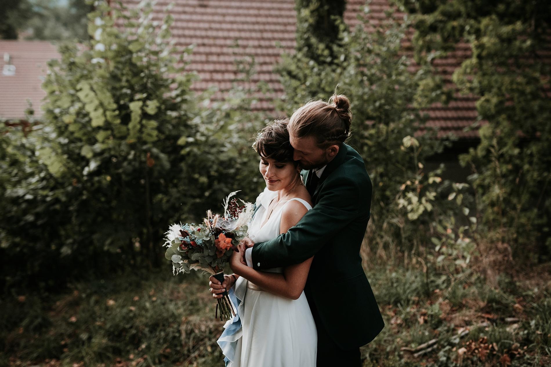 Mariage intime au parc de wesserling Alsace
