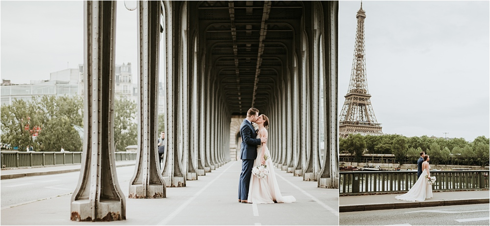 Gorgeous Elopement in Paris