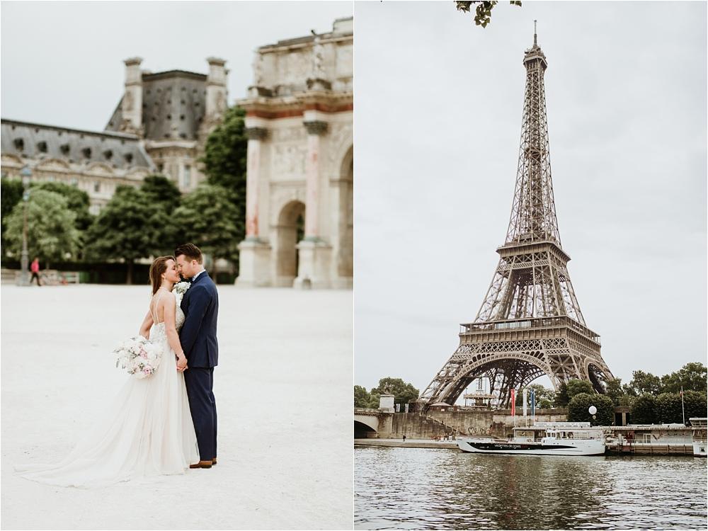 Intimate Elopement Paris