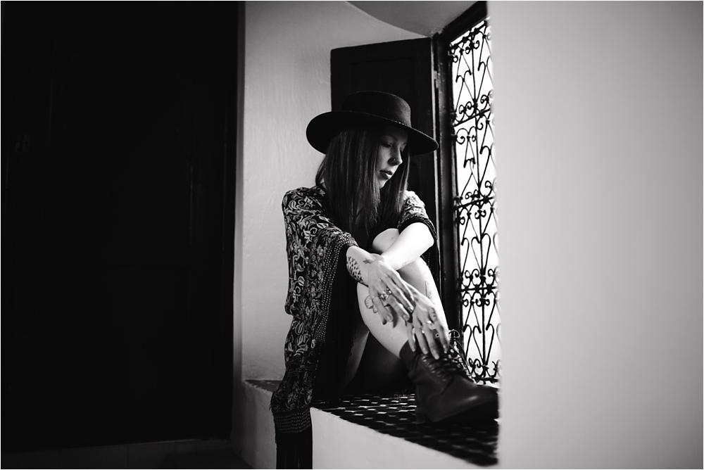 Séance photo portrait femme