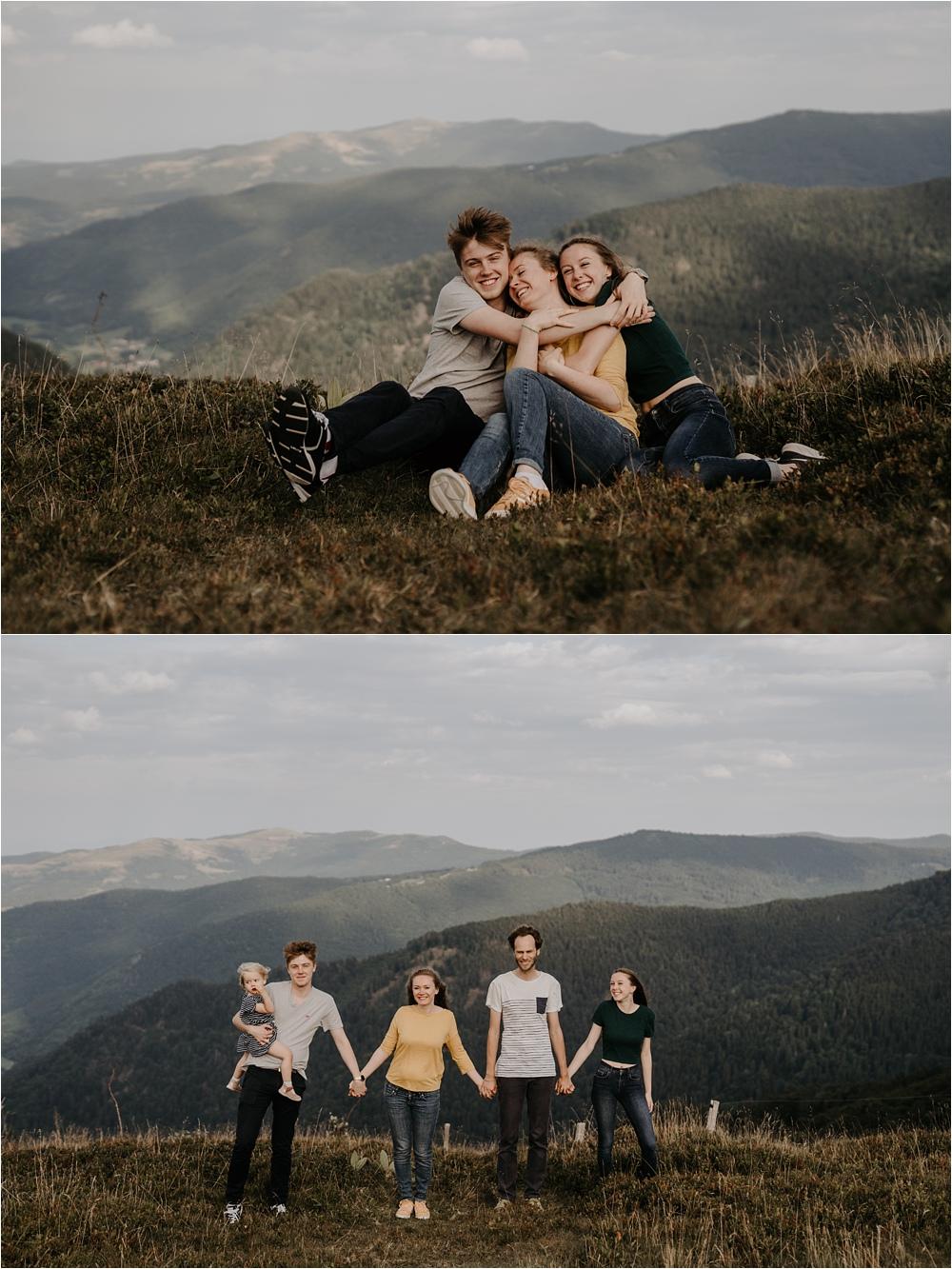 Séance photo famille Vosges