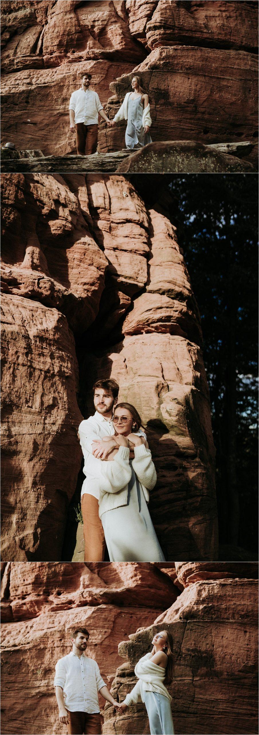 Portrait couple Alsace