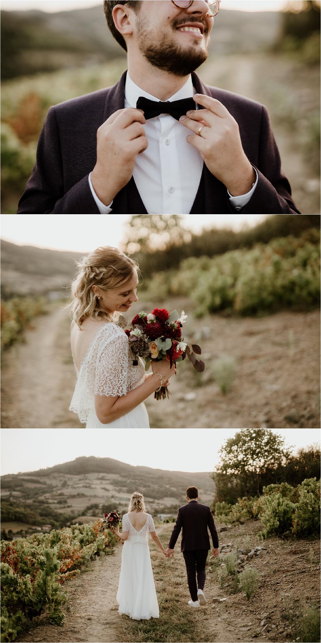 Joli mariage Beaujolais Domaine de Vavril